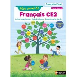 Mon année de français CE2 - Fichier 1 - 2019 - Nathan