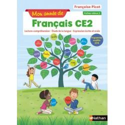 Mon année de français CE2 - Fichier 2 - 2019 - Nathan
