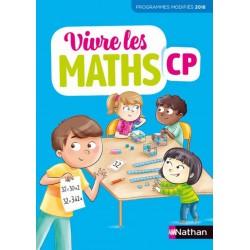 Vivre les maths CP - Fichier de l'élève + Mémo - 2019 - Nathan