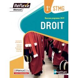 Droit 1re STMG - Reflexe - Manuel - 2019 - Nathan