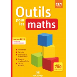 Outils pour les Maths CE1 - Manuel - 2019 - Magnard