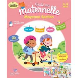 Toute ma maternelle - Tout le programme MS 4-5 ANS - 2019 - Hachette