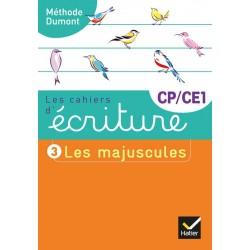 Les cahiers d'écriture CP/CE1 nº 3 - Les majuscules - 2019 - Hatier