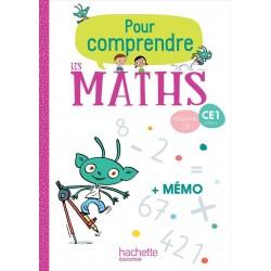 Pour comprendre les maths CE1 - Fichier + Mémo - 2019 - Hachette