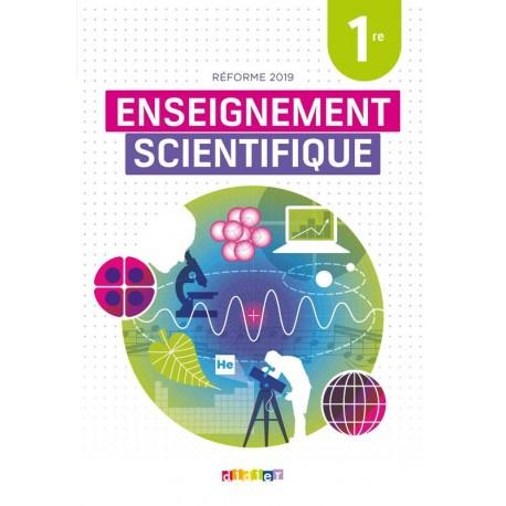 Enseignement scientifique 1re - Manuel - 2019 - Didier