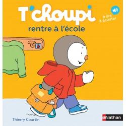 T'choupi rentre à l'école - Thierry Courtin - Nathan